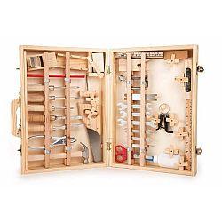 Dřevěný box s nářadím pro malé kutily Legler