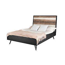 Dvoulůžková postel Livin Hill Adesso, 140x200cm