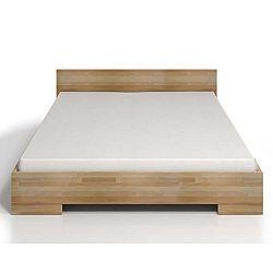 Dvoulůžková postel z bukového dřeva s úložným prostorem SKANDICA Spectrum Maxi, 180x200cm