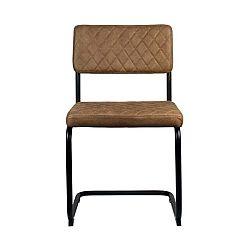 Hnědá jídelní židle LABEL51 Bow