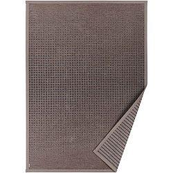 Hnědý vzorovaný oboustranný koberec Narma Helme, 160 x 230cm