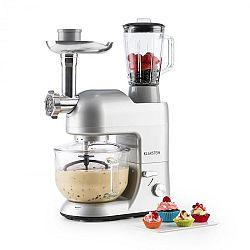 Klarstein Lucia Argentea 2G kuchyňský robot, mixér, mlýnek na maso, 1200W, bez BPA