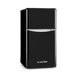 Klarstein Monroe Black kombinovaná chladnička s mrazákem 61/24 l A + retrolook černá