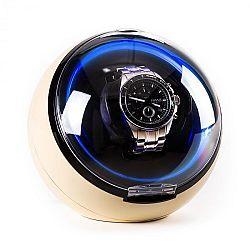 Klarstein St. Gallen Deux, pohyblivý stojan na hodinky, 4 režimy, LED, krémový