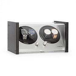 Klarstein Tokyo 4, natahovač hodinek, 4 kusy hodinek, 3 rychlosti, 4 režimy, černý