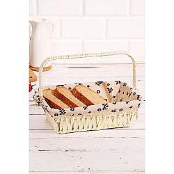 Košík na pečivo z vrbového proutí Logan Anabelle, 30x20x9cm