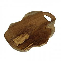 Krájecí prkénko z teakového dřeva HSM collection Flate, délka30cm