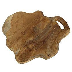 Krájecí prkénko z teakového dřeva HSM collection Flate, délka38cm