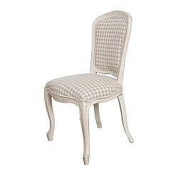 Krémová židle z březového dřeva Livin Hill Verona