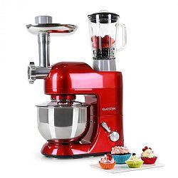 Kuchyňský robot Klarstein Lucia Rossa 1200W - červená