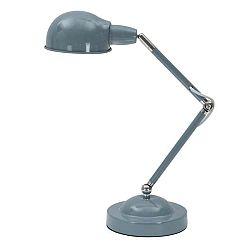 Modrá stolní lampa Mauro Ferretti Wayne