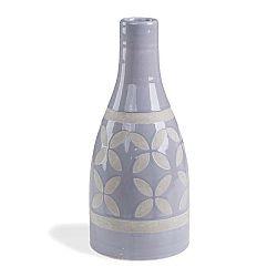 Modrá váza La Forma Arco