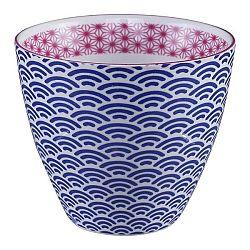 Modrý hrnek na čaj Tokyo Design Studio Star/Wave, 350ml