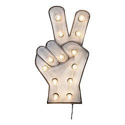 Nástěnná LED dekorace Kare Design Peace