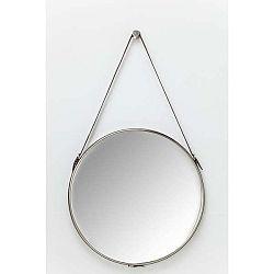 Nástěnné zrcadlo ve stříbrné barvě Kare Design Hacienda,Ø61cm