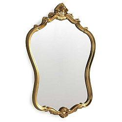 Nástěnné zrcadlo ve zlaté barvě Geese Baroque, 57x72cm