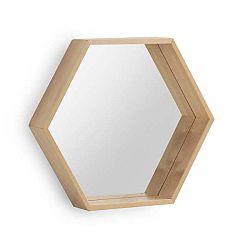 Nástěnné zrcadlo z březového dřeva Geese Pure