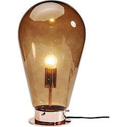 Oranžová stolní lampa Kare Design Bulb