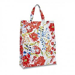 Plastová taška Cooksmart England Floral Romance Medium