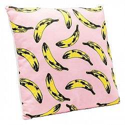 Polštář s motivem banánů Kare Design Pop Art, 45 x 45 cm