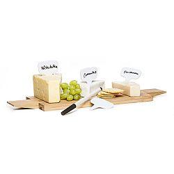 Porcelánové značky na sýry Sagaform, 4 ks