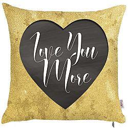 Povlak na polštář Apolena Love You More, 43 x 43 cm