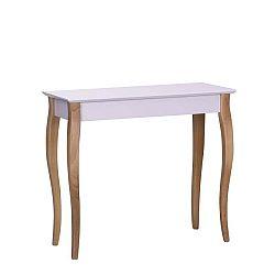 Růžový odkládací stolek Ragaba Console,délka85cm