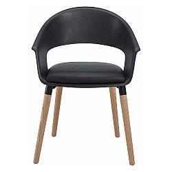 Sada 2 černých židlí Støraa Alto