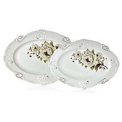 Sada 2 porcelánových talířů Franz Johann