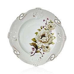 Sada 6 porcelánových talířů Franz Richard, ⌀27cm