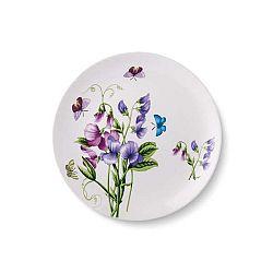 Sada 6 porcelánových talířů Violet, ⌀ 24 cm