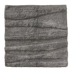 Šedá koupelnová předložka Zone Flow, 65x65cm