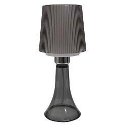 Šedá stolní lampa Mauro Ferretti Para