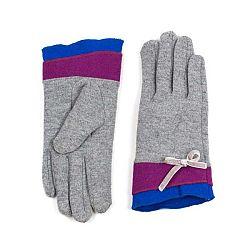 Šedé dámské rukavice Art of Polo Linda