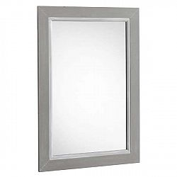 Šedé nástěnné zrcadlo Geese Paris, 55x 85 cm