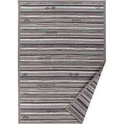 Šedobéžový vzorovaný oboustranný koberec Narma Liiva, 160 x 230cm