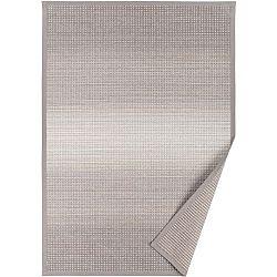 Šedobéžový vzorovaný oboustranný koberec Narma Moka, 140 x 200cm