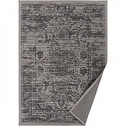 Šedobéžový vzorovaný oboustranný koberec Narma Palmse, 70 x 140cm