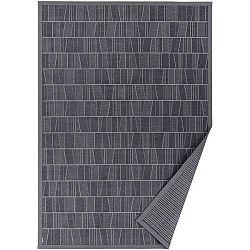 Šedý vzorovaný oboustranný koberec Narma Kursi, 70 x 140cm