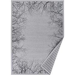 Šedý vzorovaný oboustranný koberec Narma Puise, 140 x 200cm