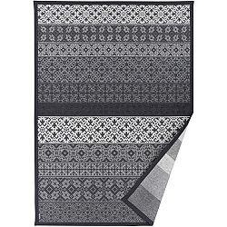 Šedý vzorovaný oboustranný koberec Narma Tidriku, 70 x 140cm
