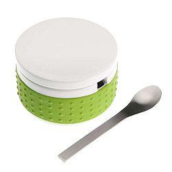Set zelené dózy na cukr se lžičkou Versa Spoon
