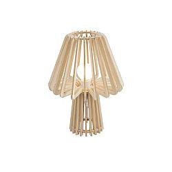 Skládací dřevěná stolní lampa Leitmotiv Edged Mushroom
