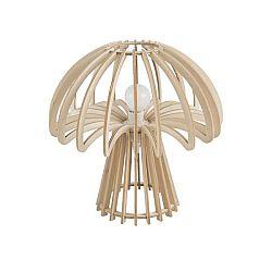 Skládací dřevěná stolní lampa Leitmotiv Traditional Mushroom