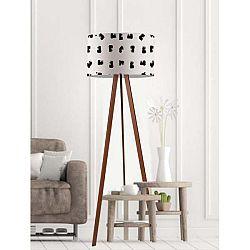 Stojací lampa Black And White