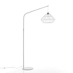 Stojací lampa ve stříbrné barvě Tomasucci Diamond