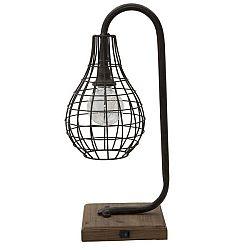 Stolní lampa Mauro Ferretti Iron, 50,5 cm