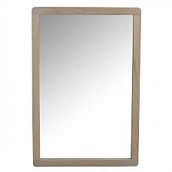 Světlé dubové zrcadlo Rowico Gorgona