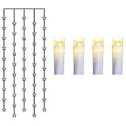 Svítcí LED dekorace Best Season Royal Snowy Time