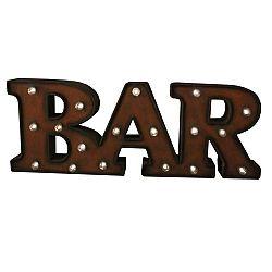 Svítící nápis Antic Line Bar Mot